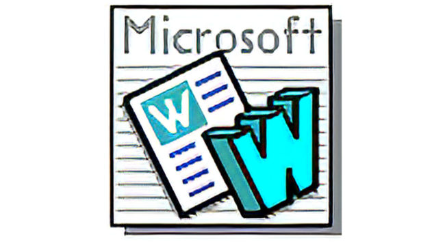 Microsoft Word Logo 1991-1993