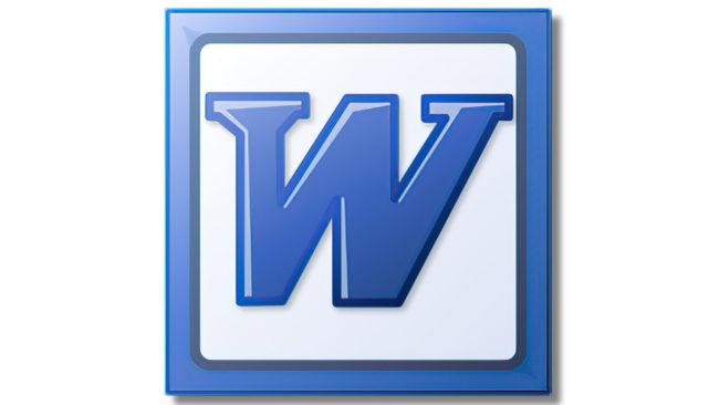 Microsoft Word Logo 2003-2007
