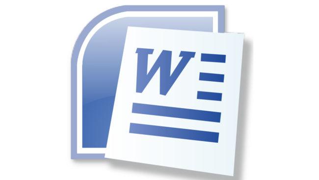 Microsoft Word Logo 2007-2010