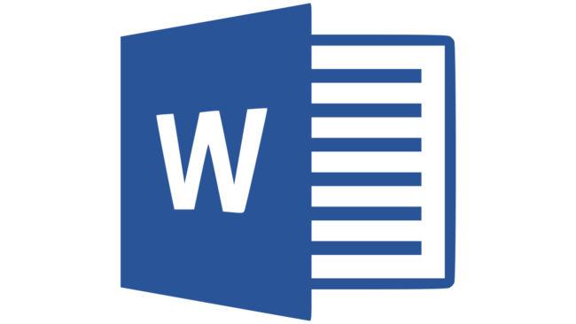 Microsoft Word Logo 2013-2019