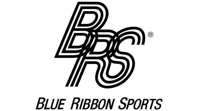 Blue Ribbon Sports Logo 1964-1971