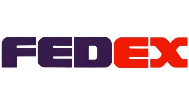 FedEx Logo 1991–1994