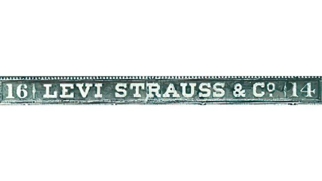 Levi's Logo 1853–1892