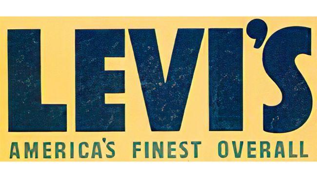 Levi's Logo 1943–1949