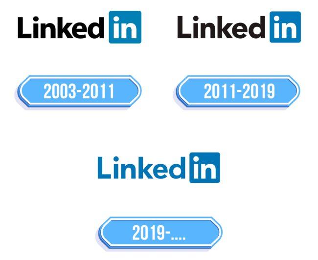 Linkedin Logo Storia