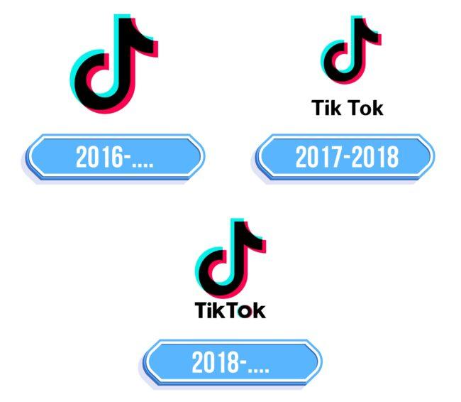 TikTok Logo Storia