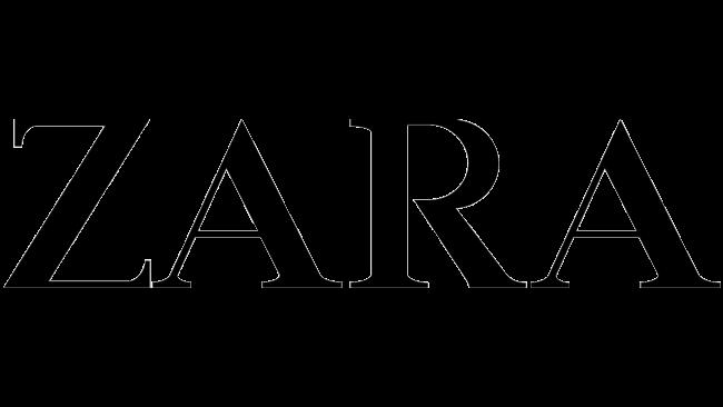 Zara Logo 1975-2008
