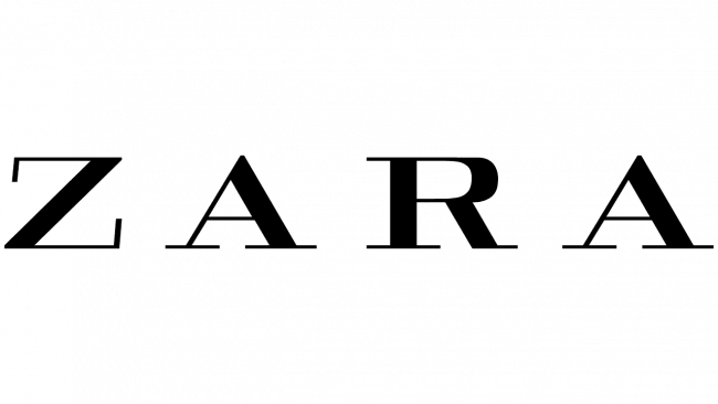 Zara Logo 2008-2019