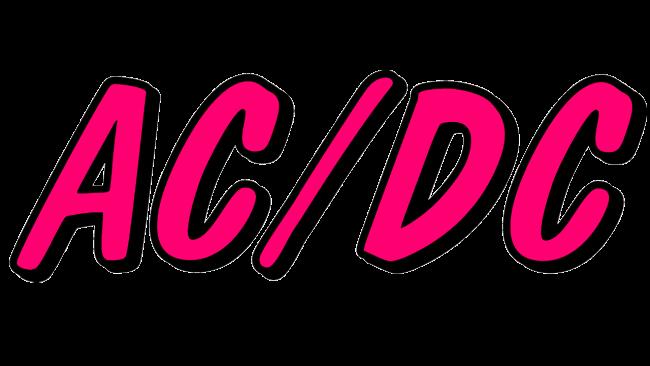 AC DC Logo 1976-1977