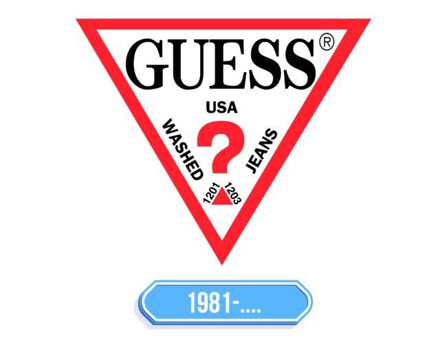 GUESS Logo Storia