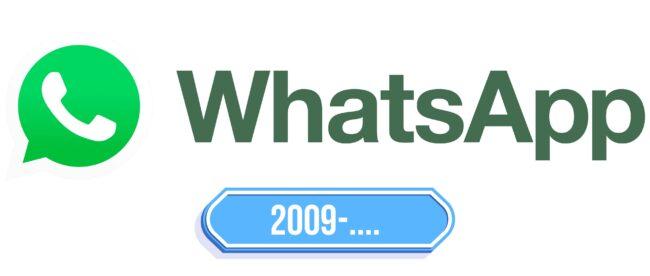 WhatsApp Logo Storia