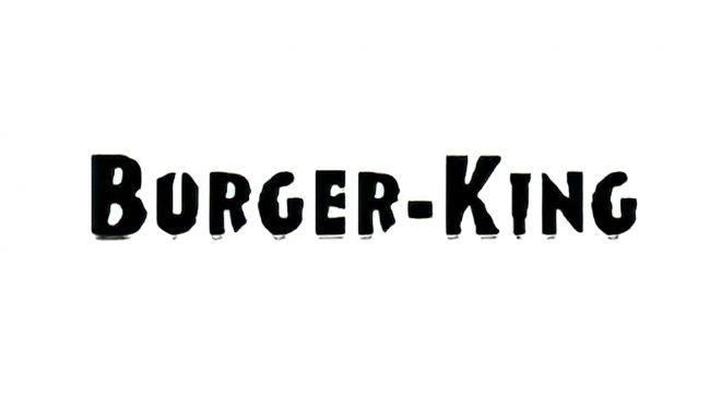 Burger King Logo 1954-1957
