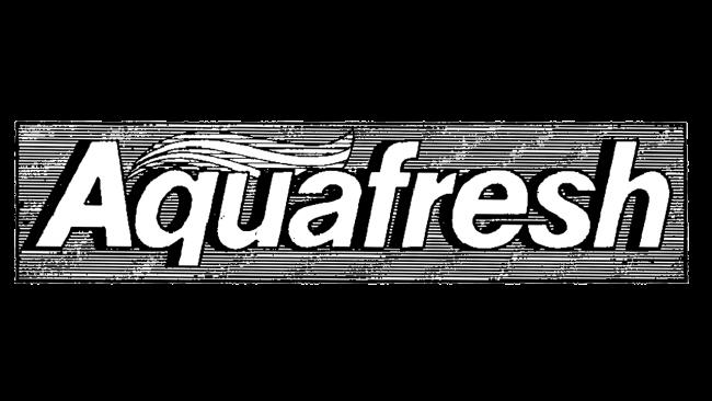 Aquafresh Logo 1973-1986