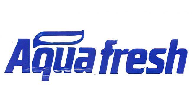 Aquafresh Logo 1986-1989