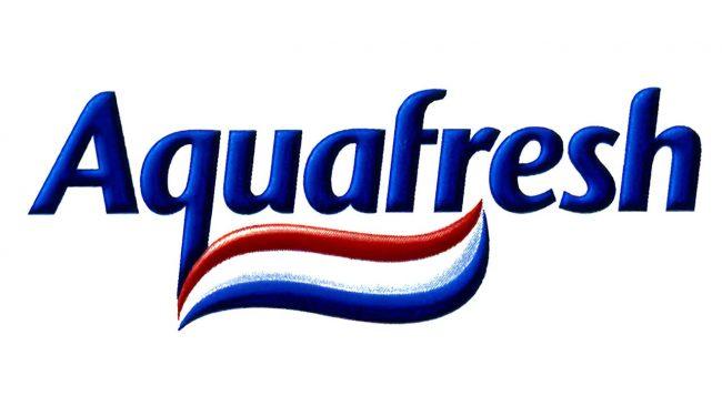 Aquafresh Logo 1996-1998