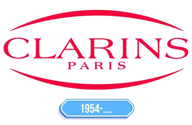 Clarins Logo Storia