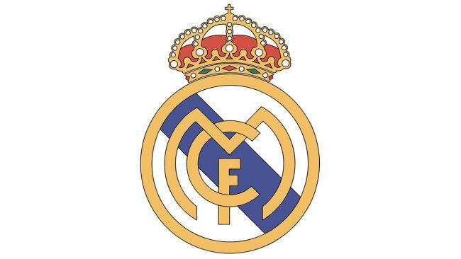 Real Madrid Logo 1997-2001