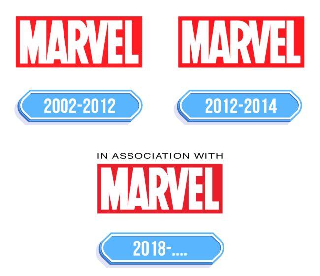 Marvel Logo Storia