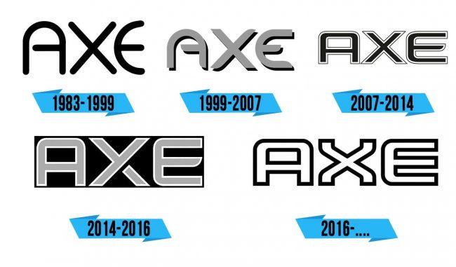AXE Logo Storia