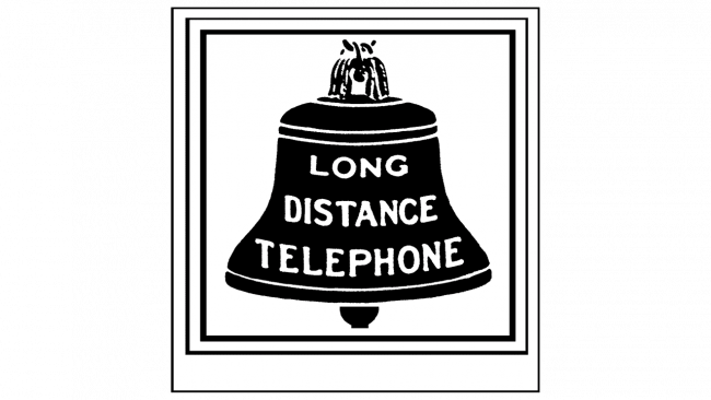American Telephone and Telegraph Company Logo 1885-1900