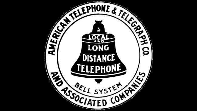 American Telephone and Telegraph Company Logo 1900-1921