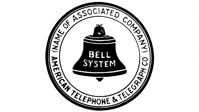 American Telephone and Telegraph Company Logo 1921-1939