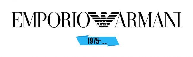 Emporio Armani Logo Storia