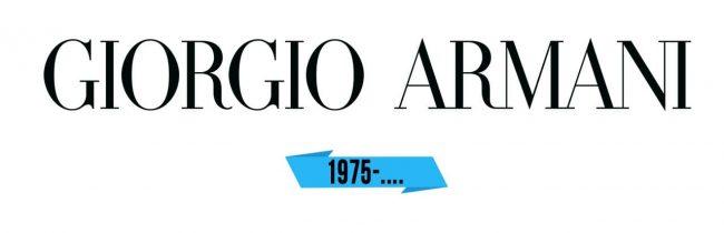 Giorgio Armani Logo Storia