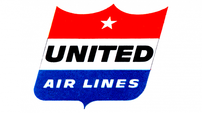 United Airlines Logo 1954-1960