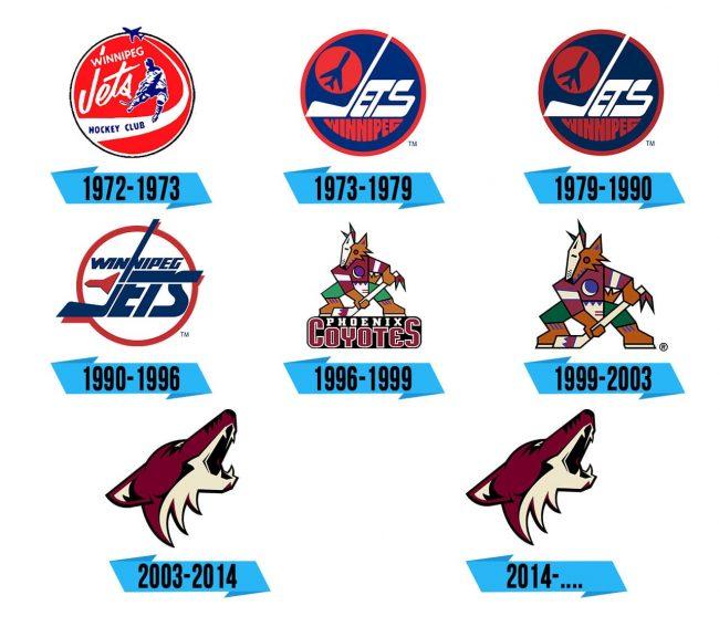 Arizona Coyotes Logo Storia