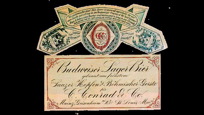 Budweiser Logo 1876-1942