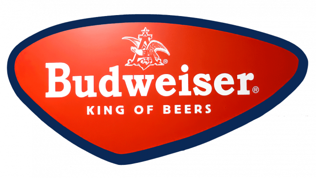 Budweiser Logo 1952-1957