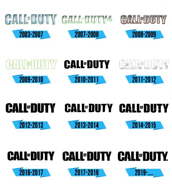 Call of Duty Logo Storia