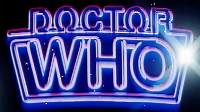 Doctor Who Logo 1984-1987