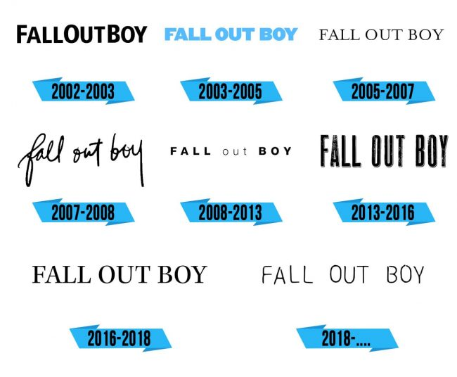 Fall Out Boy Logo Storia