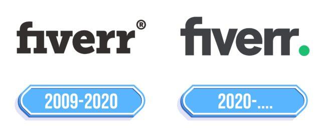 Fiverr Logo Storia