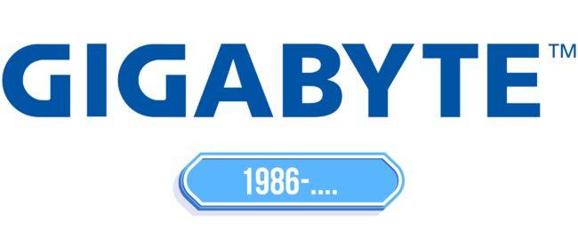 Gigabyte Logo Storia