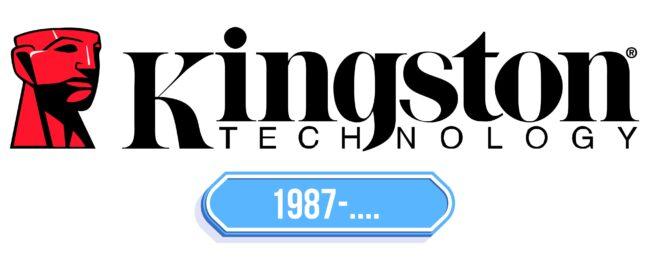 Kingston Logo Storia