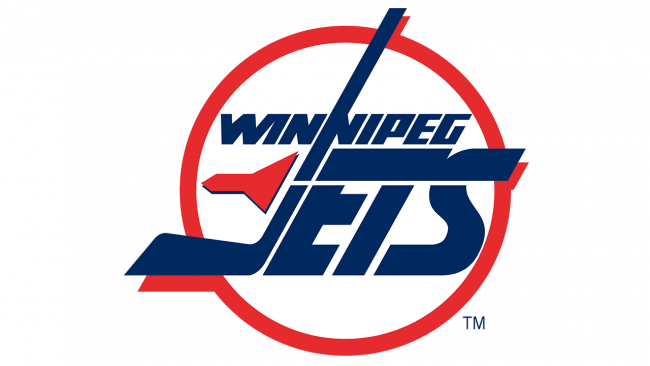 Winnipeg Jets Logo 1990-1996