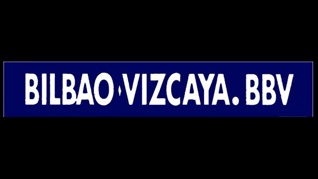 Banco Bilbao Vizcaya BBV Logo 1988
