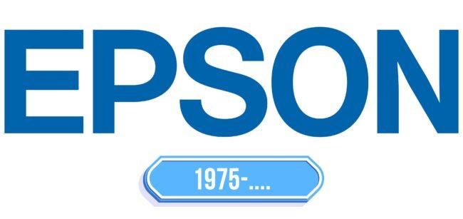 Epson Logo Storia