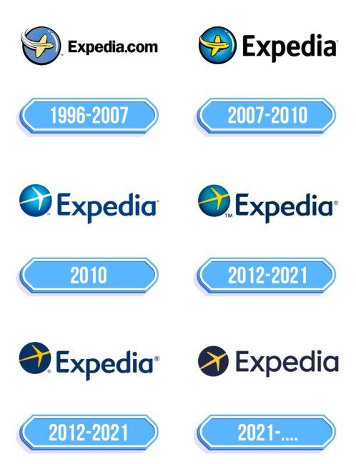 Expedia Logo Storia