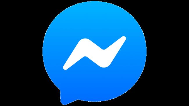 Facebook Messenger Logo 2018-2020