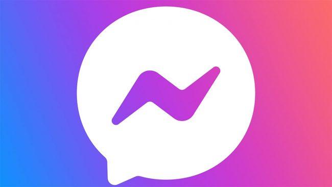 Facebook Messenger Simbolo