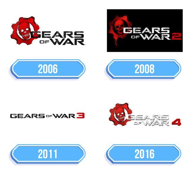 Gears of War Logo Storia