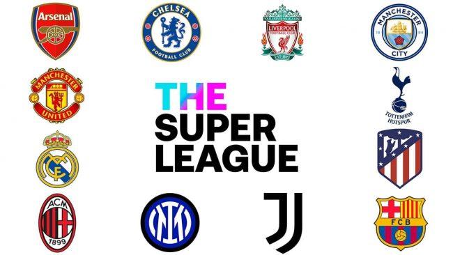 Le squadre che hanno fondato The Super League