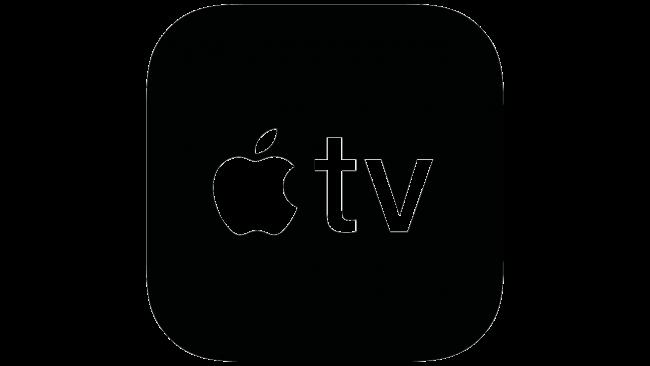 Logo della Apple TV