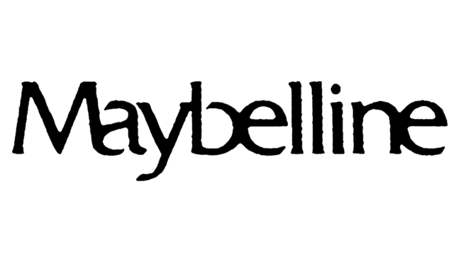 Maybelline Logo 1979-1992