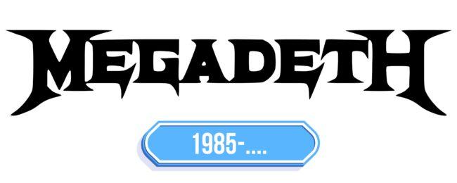 Megadeth Logo Storia