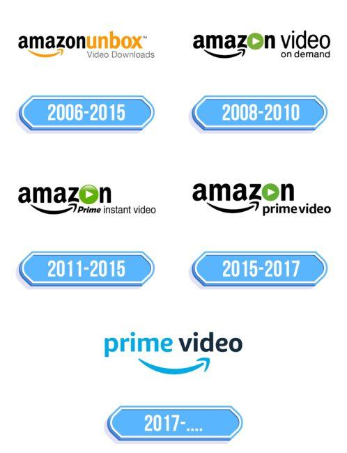 Amazon Prime Video Logo Storia